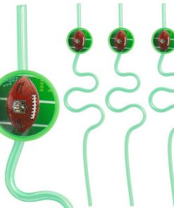 American Football Party NFL Drive Krazy Straws