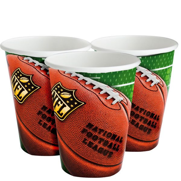 American Football Party NFL Drive Paper Party Cups
