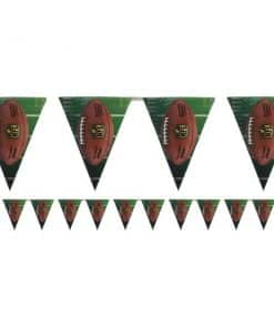 American Football Party NFL Drive Plastic Flag Bunting