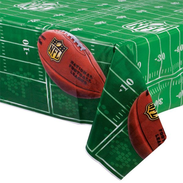 American Football Party NFL Drive Party Plastic Tablecover