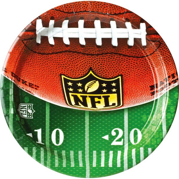American Football Party NFL Drive Paper Plates  sc 1 st  Fun Party Supplies & Buy American Football Party NFL Drive Paper Plates - Fun Party Supplies