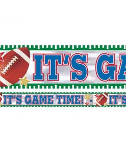 American Football Party Foil Banner