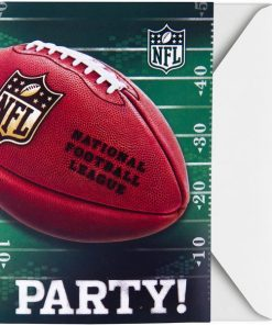American Football Party NFL Drive Party Invitations and Thank Yous