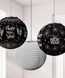 New Years Eve Party Lantern Decorations