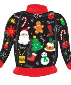 Christmas Ugly Christmas Sweater SuperShape Foil Balloon