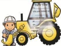 Digger Party Invites