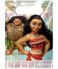 Disney Moana Party Plastic Loot Bags