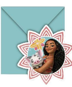 Disney Moana Party Invitations