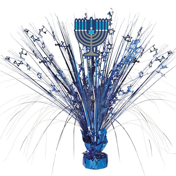 Hanukkah Spray Centrepiece Decoration