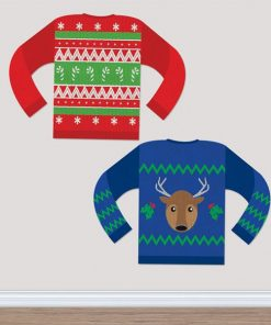 Christmas Ugly Sweater Cut Outs