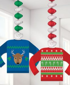 Christmas Ugly Sweater Dangler Decorations
