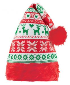 Christmas Ugly Sweater Santa Hat