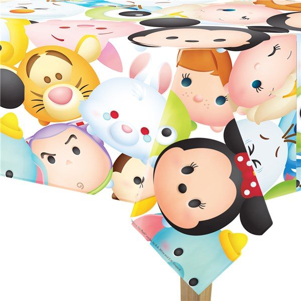 Disney Tsum Tsum Party Plastic Tablecover