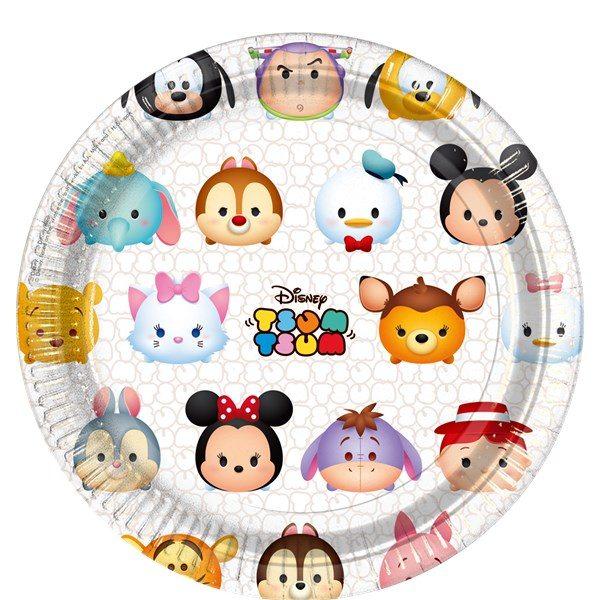 Disney Tsum Tsum Party Paper Plates