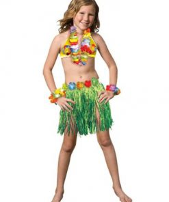 Child Luau Girl Costume