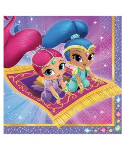Shimmer & Shine Party Paper Napkins