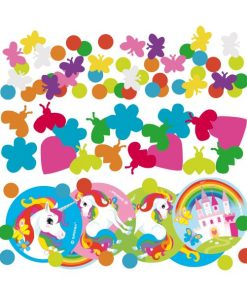 Rainbow Unicorn Party Confetti