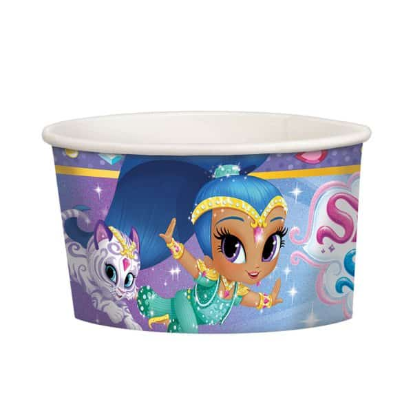 Shimmer & Shine Party Paper Treat/Ice Cream Cups