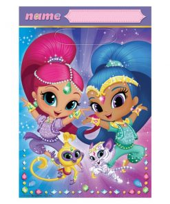 Shimmer & Shine Party Plastic Loot Bags