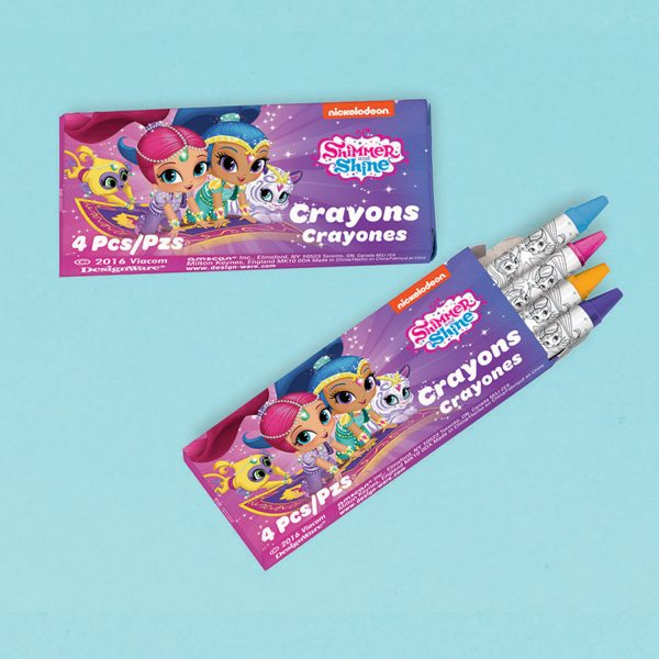 Shimmer & Shine Party Crayons