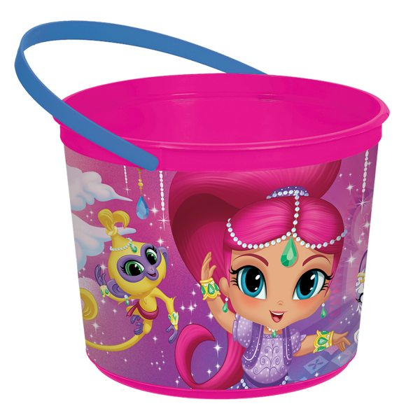 Shimmer & Shine Party Plastic Favour Bucket