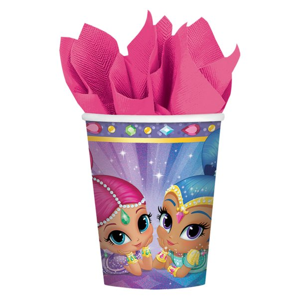 Shimmer & Shine Party Paper Cups