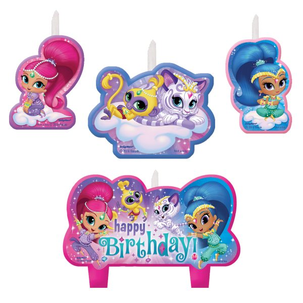 Shimmer & Shine Party Candle Set