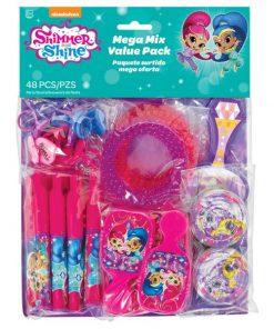Shimmer & Shine Party Mega Value Favour Packs