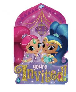 Shimmer & Shine Party Invites