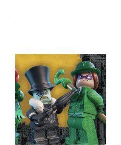 LEGO Batman Party Paper Beverage Napkins