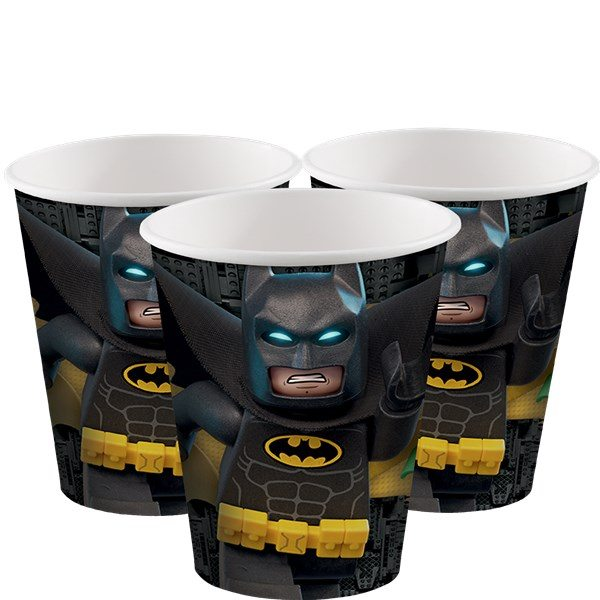 LEGO Batman Party Paper Cups