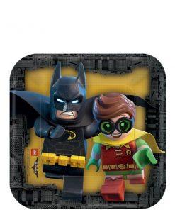 LEGO Batman Party Paper Dessert Plates