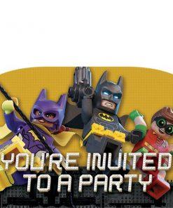 LEGO Batman Party Invites