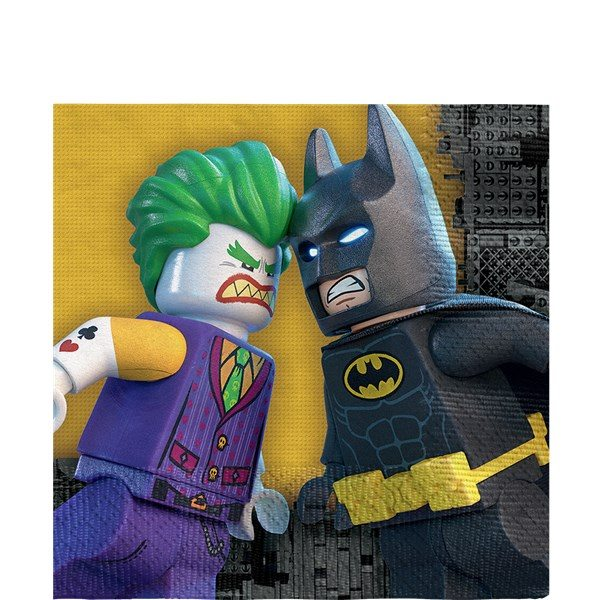 LEGO Batman Party Paper Napkins