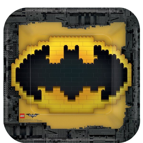 LEGO Batman Party Paper Plates