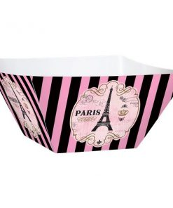 Day In Paris Party Large Paper Bowls