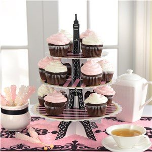 Day In Paris Party Treat Stand