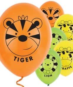 Jungle Friends Latex Balloons