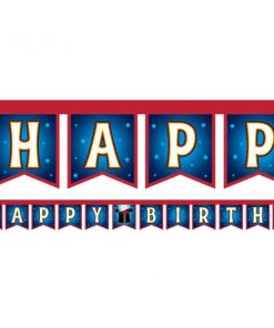 Magic Party Jointed Happy Birthday Banner
