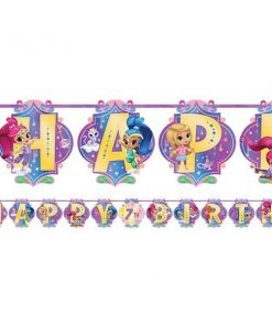 Shimmer & Shine Party Add an Age Letter Banner