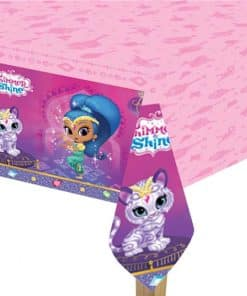 Shimmer & Shine Party Plastic Tablecover