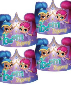 Shimmer & Shine Party Card Tiaras