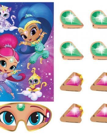 Shimmer & Shine Party Pin the Jewel Party Game