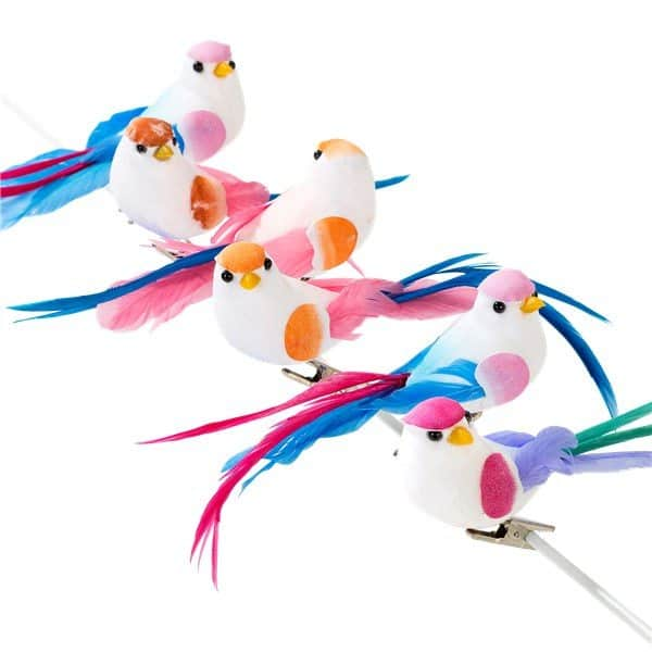 Truly Romantic Party Clip On Love Bird Decorations