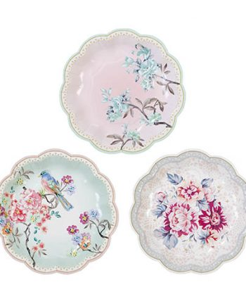 Truly Romantic Party Paper Plates