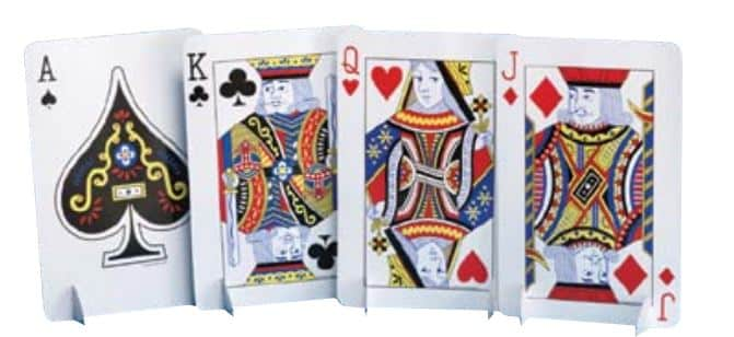 Magic Party Playing Cards Centrepiece Set