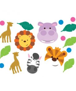 Jungle Animal Friends Party Confetti