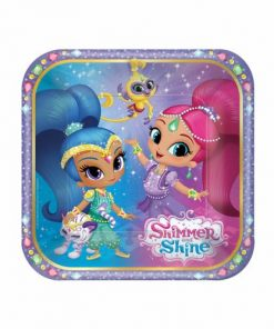 Shimmer & Shine Party Paper Plates