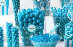 Blue & Green Candy Buffet
