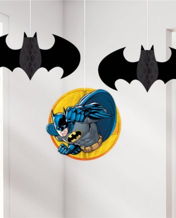 LEGO Batman Party Honeycomb Hanging Decorations